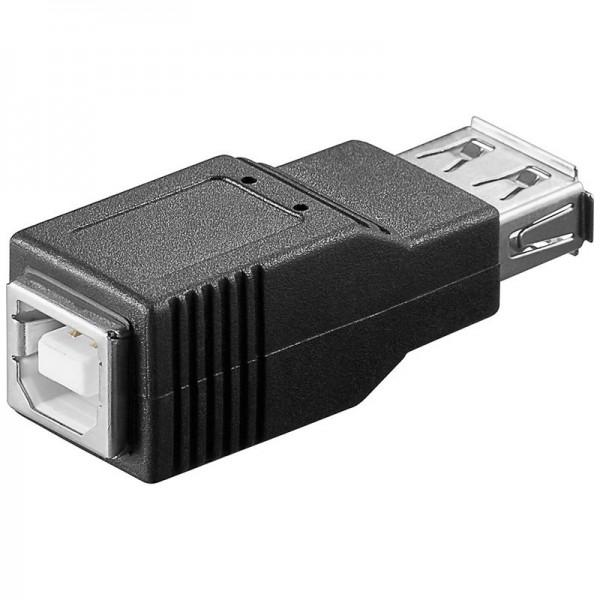 Adaptateur USB 2.0 haut débit de A femelle à B femelle
