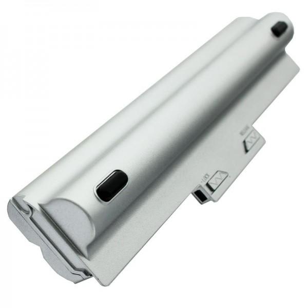 AccuCell batterie adaptée pour Sony VGP-BPS13 batterie 6600mAh