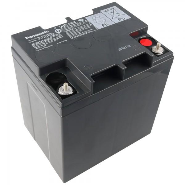 Batterie au plomb Panasonic LC-X1224APG Batterie 12 Volts 24 Ah