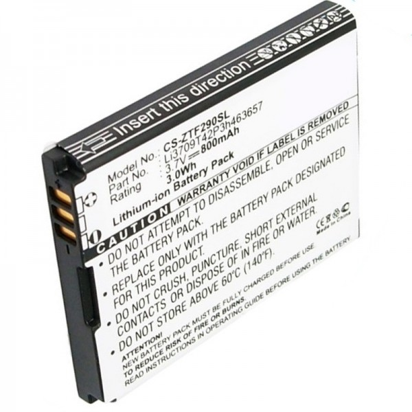 Batterie de remplacement AT & T Z221 de AccuCell