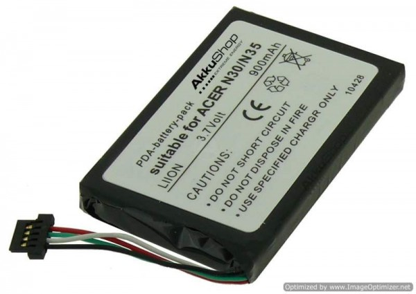 Batterie AccuCell adaptable à Typhoon MyGuide 2500