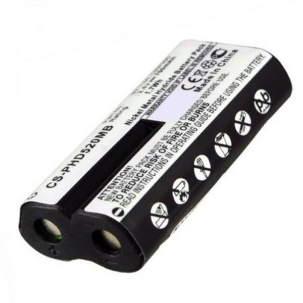 Philips Avent SCD520 batterie rechargeable NiMH en tant que batterie remplaçable à partir de AccuCell