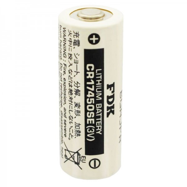 Sanyo pile au lithium CR17450SE taille A, sans étiquettes de soudure
