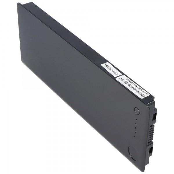 AccuCell batterie compatible avec Apple Macbook 13 A1185, MA561 Noir