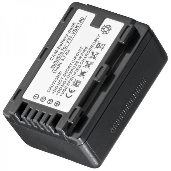 AccuCell batterie adapté pour VW-VBK180, VBK360 pas de batterie d'origine