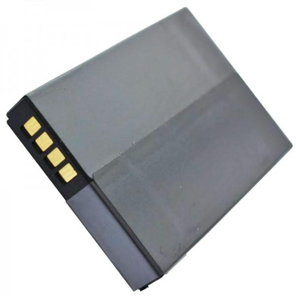 Batterie AccuCell adaptable sur Medion MD96700, réf. E3MT041202B12A