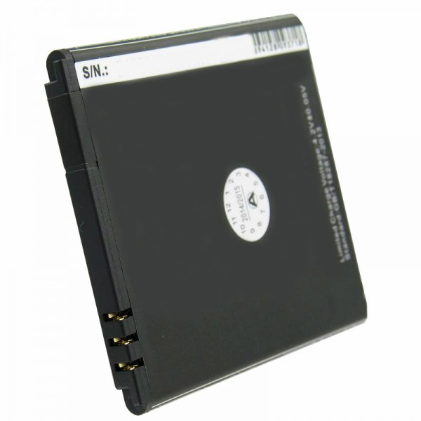Batterie compatible pour Simvalley SP-140, batterie de remplacement PX-35234, PX-3524-675