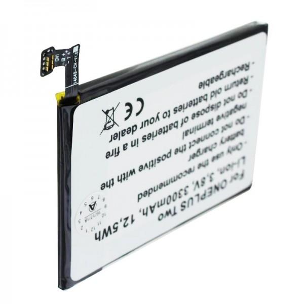 Batterie pour ONEPLUS 2, A2001, A2003, A2005, Deux batteries BLP597
