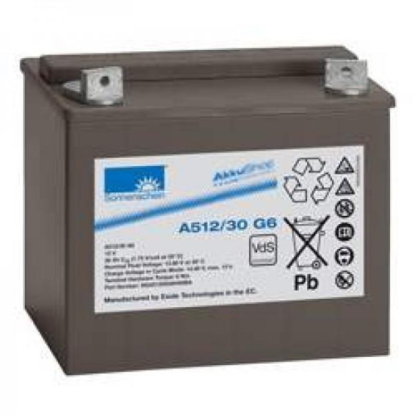Batterie au plomb Sonnenschein Dryfit A512 / 30G6, VDS G196025