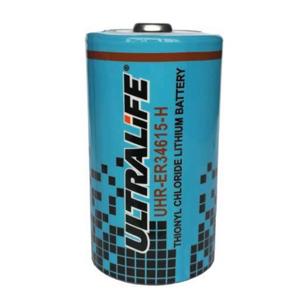 UHR-ER34615-H Batterie au lithium Ultralife 3.6Volt 14.5Ah D cell haut courant -55 ° C à + 85 ° C