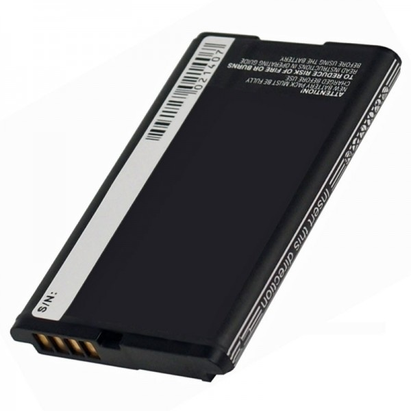 Batterie AccuCell compatible avec BlackBerry Curve 8300, Curve 8310, Curve 9300