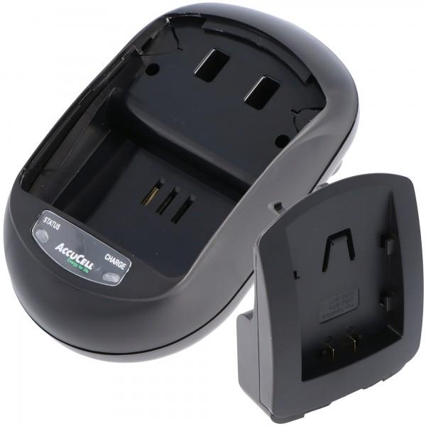 Chargeur rapide AccuCell pour Toshiba GSC-BT6, GSC-BT7