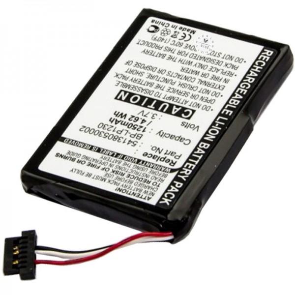 Batterie AccuCell pour Navman S20, 541380530002, 1250mAh