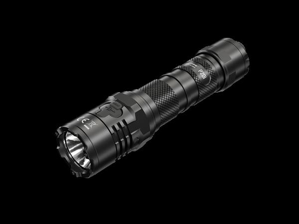Lampe de poche LED Nitecore P20i, 1800 lumens, lampe de poche tactique, bouton STROBE READY, connexion de charge USB-C, 21700 Li-Ion type de batterie NL2140i 4000mAh