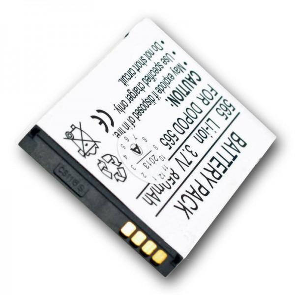 Batterie AccuCell adaptable sur Audiovox SMT5600, ST26