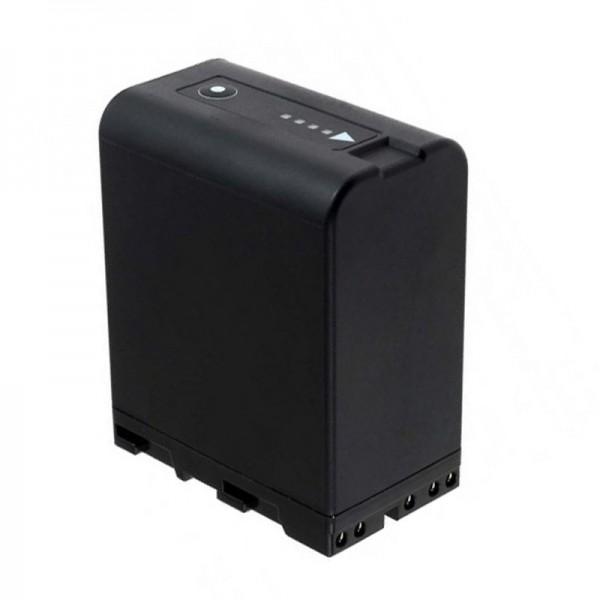 AccuCell batterie adaptée pour le Sony BP-U30, batterie BP-U60 14.4 Volt, 5200mAh