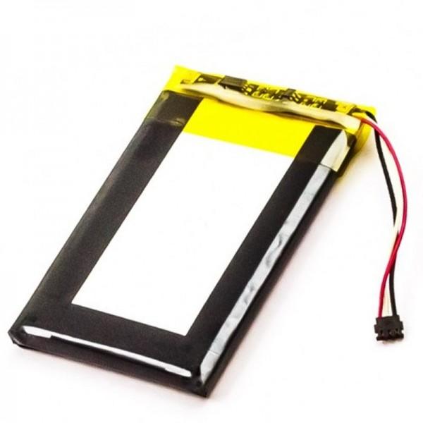 Batterie adapté pour Garmin Nulink 2340, Nülink 2340, Nulink 2390, Nülink 2390 batterie 361-00019-15