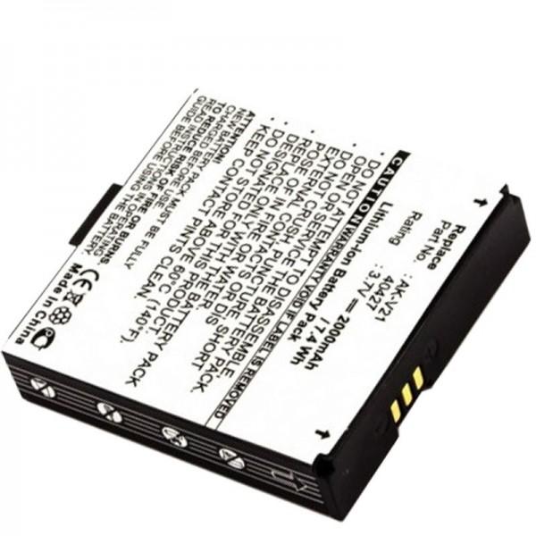 Batterie AccuCell pour Emporia Time V20, Talk, AK-V21, 40427