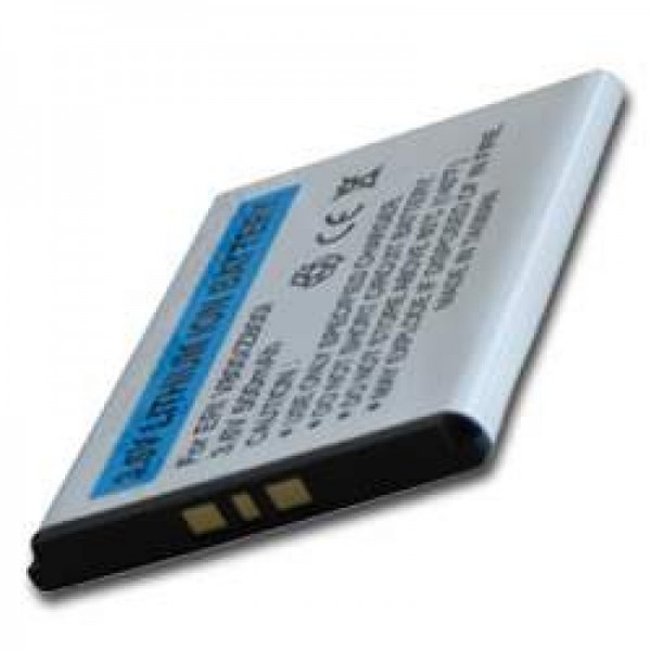 Batterie AccuCell pour Sony Ericsson K810i, 500mAh