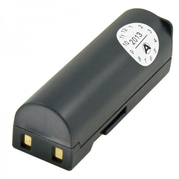 AccuCell batterie adaptée pour Samsung SLB-0637 batterie, L77