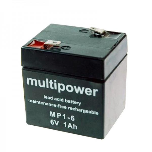 Batterie Sonnenschein Dryfit A206 / 1.0S, cordon, connexion 4,8mm (n'existe plus, produits alternatifs)