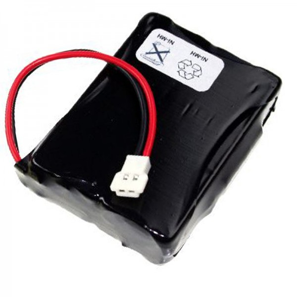 Batterie AccuCell pour Denso BHT-2000, BHT-2065, 496466-0240