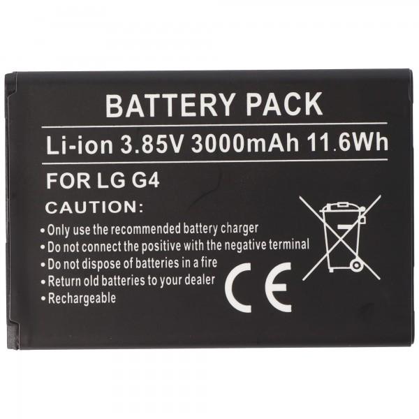 AccuCell batterie adaptée pour LG BL-51YF batterie EAC62858501