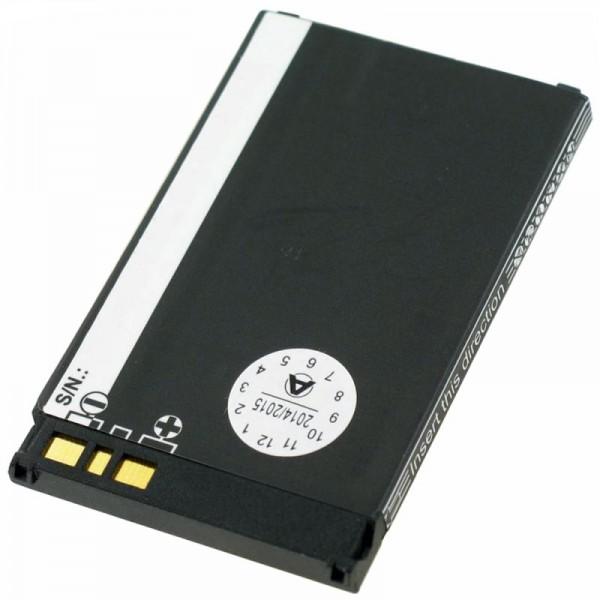AccuCell batterie convient Sharp GX15, GX25, GX30, GX30i, 780mAh