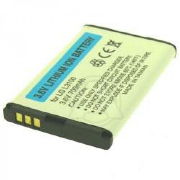 AccuCell batterie adapté pour LG L3100, 700mAh
