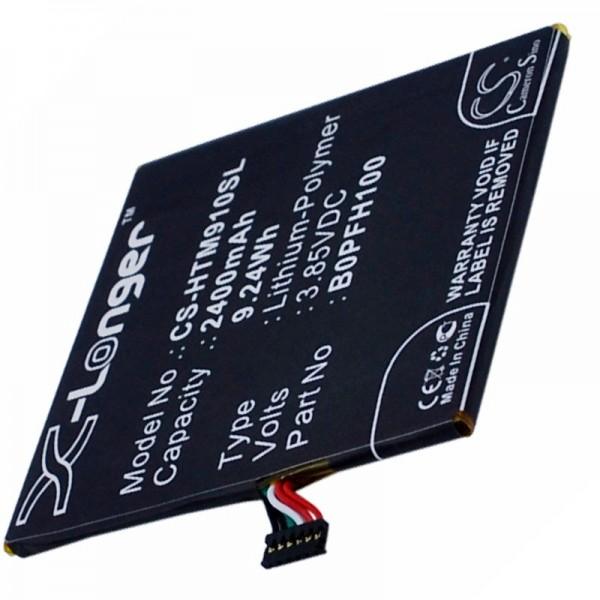 Batterie pour HTC Desire Eye 35H00234-00M, B0PFH100 3.8 Volt 2400mAh