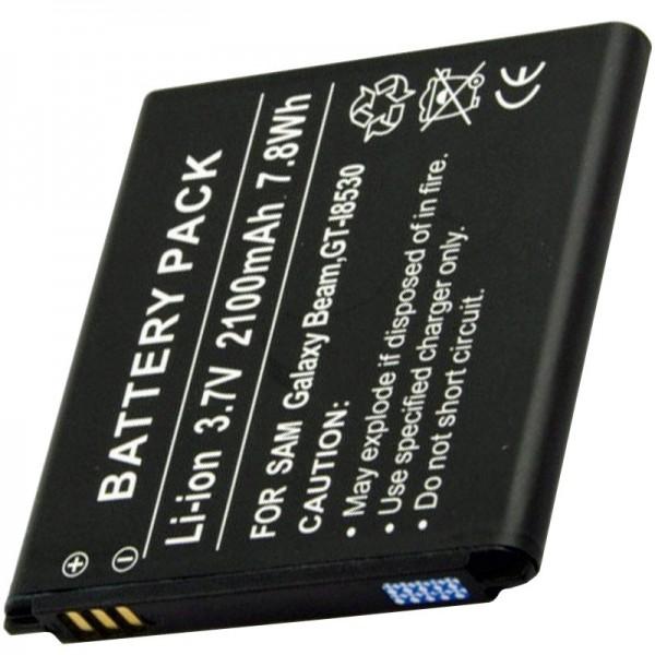 GT-I8530, EB585157LU, Batterie de remplacement pour Samsung Galaxy par AccuCell