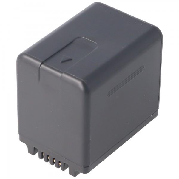 Batterie compatible uniquement avec les batteries Panasonic HC-V110, HC-V130, HC-V710 VW-VBT380, 3880mAh
