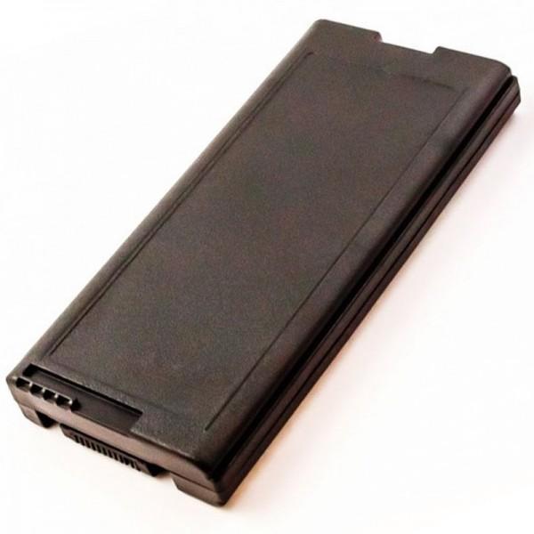 Batterie compatible pour Panasonic ToughBook CF-29, CF-51, CF-VZSU29U, 11.1 Volt, 7800mAh