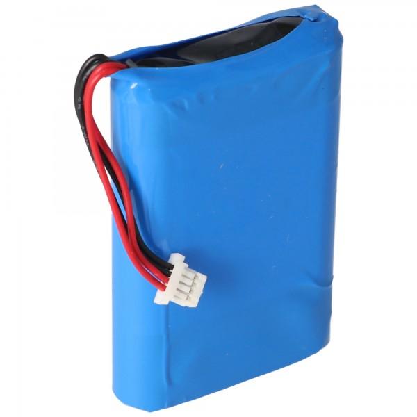 Batterie pour Nevo S70, Nevo batterie A0356 3,7 Volt 1700mAh