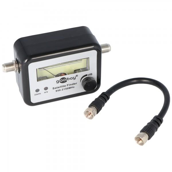 Satellite Finder l'instrument de mesure avec son, y compris câble de raccordement F