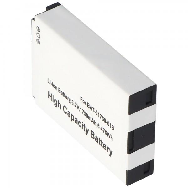 Batterie AccuCell compatible avec Sonim XP3 Quest XP1300, XP3300, XP5300 XP-0001100