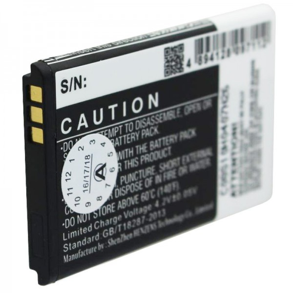 Batterie pour Kazam Life B2, Kazam Life C5, KAC5-HELBE0003594