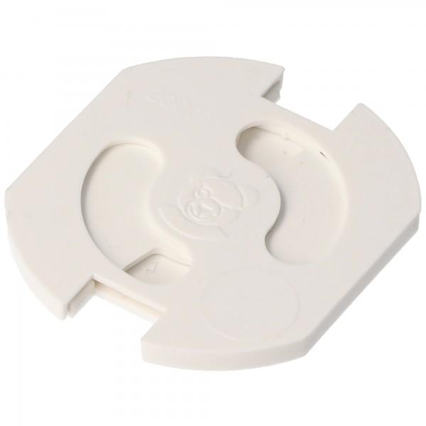 Protection de prise pour enfants Teddy-Automatic série 6320, blanc 6320-001.01