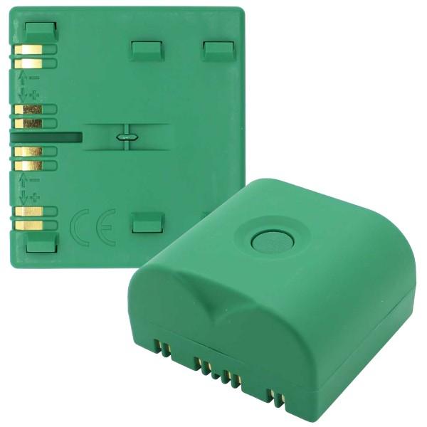 BATLI23 batterie au lithium adapté aux appareils Daitem 2x 3.6 Volt 18 Ah