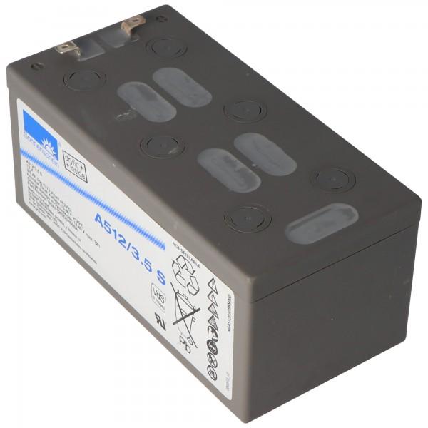 Batterie au plomb Sonnenschein Dryfit A512 / 3.5S, VdS no. G190045