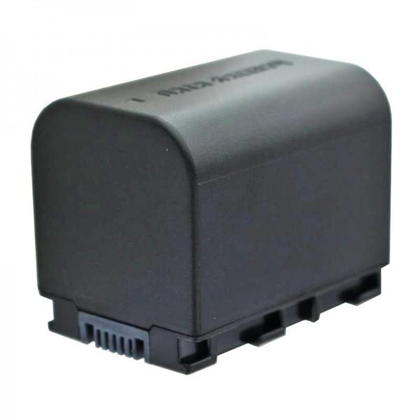 Batterie de remplacement AccuCell compatible BN-VG121 avec 2400mAh