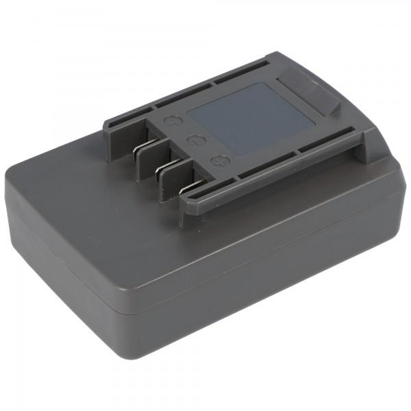Batterie pour Wolf Garden Li-Ion Power-Pack 5 41A20 - L650 avec 2000mAh