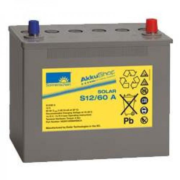 Sonnenschein Solar S12 / 60A Batterie 12V 60Ah