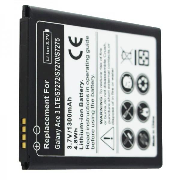 Batterie rechargeable Samsung Galaxy ACE 3, 3G LTE GT-S7270, réplique de AccuCell