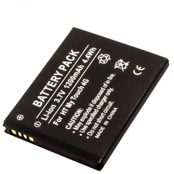 AccuCell batterie adapté pour le HTC 35H00142-02M batterie 35H00142-03M