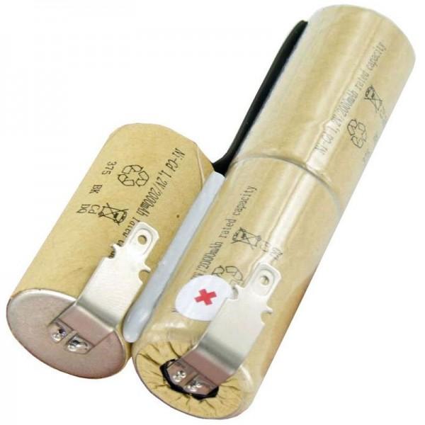 Batterie pour Bosch AGS 8, AGS 8-ST, AGS 50, 3.6 Volt, 2000mAh