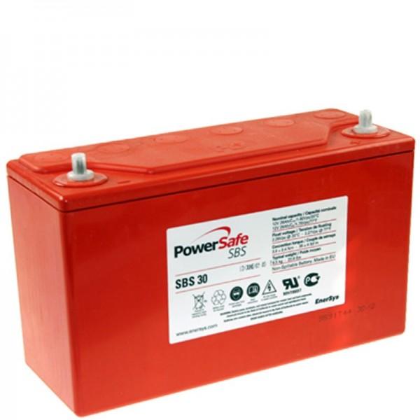 Hawker SBS30 PowerSafe Batterie au plomb PB 12Volt 26Ah 12SBS30