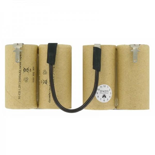 Batterie NiCd adaptée à la batterie Black & Decker Dustbuster 4,8 volts sans boîtier