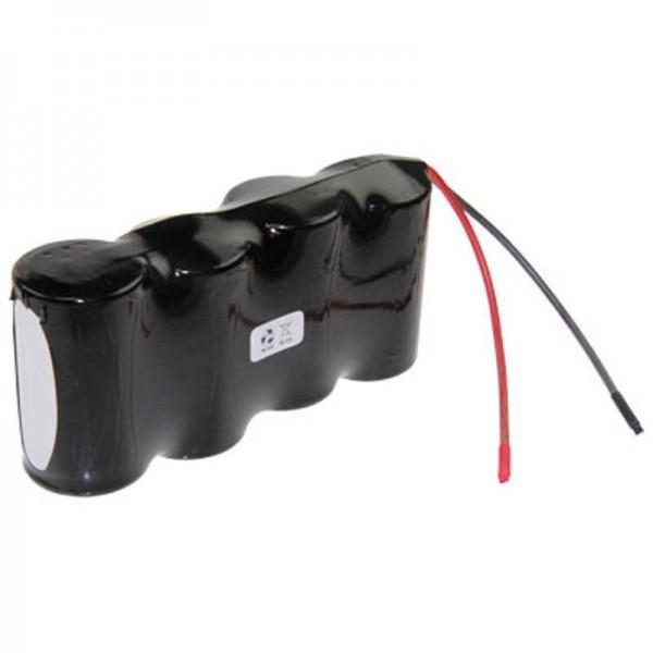 Saft 4.8 Volt Pack de batteries NiCd Mono D Batterie F1x4 Saft VT D avec Câble