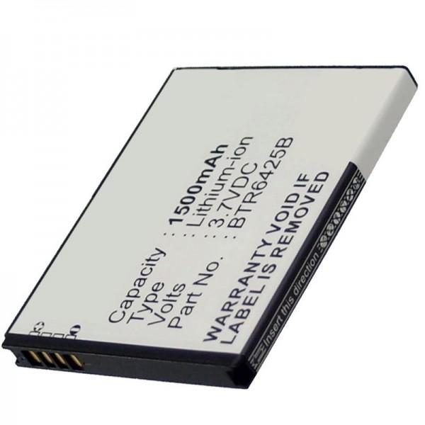 Batterie compatible avec la batterie HTC Desire SV, batterie Thunderbolt 2